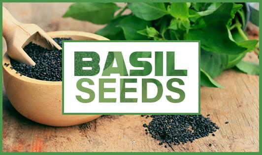 Basil seeds health benefits