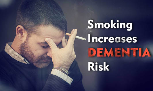 Smoking Increases Dementia Risk